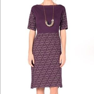 Synergy Organic Clothing Purple Fox Dress